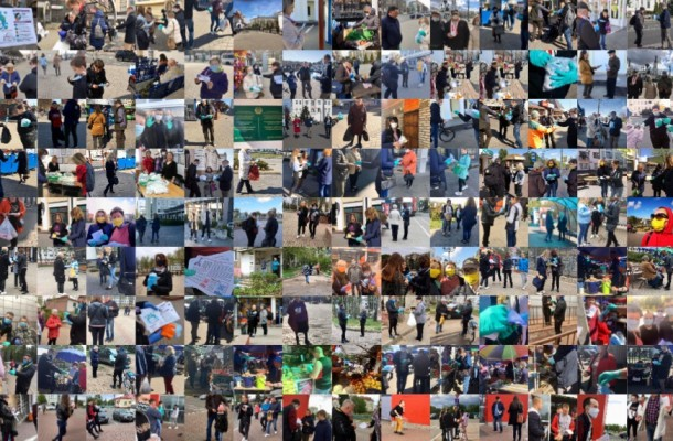Summarizing the results ofthe fruitful work: 51days, 8cities, and 1,550 masks